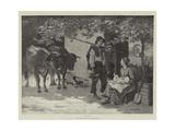 Noon Giclee Print by Edouard Debat-Ponsan