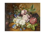 Flowers on a Ledge, 1814 Giclee Print by Ernestine Panckoucke
