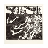 Safety First, from 'The Labour of Women', 1924 Giclee Print by Eric Gill