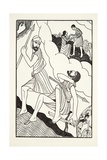 The Death of Troilus, 1927 Giclee Print by Eric Gill