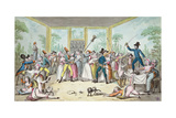 Riotous Scene in a Tavern During the Period of the French Revolution, C.1789 Giclee Print by Etienne Bericourt