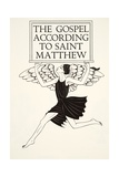 Angel of St. Matthew, 1931 Giclee Print by Eric Gill