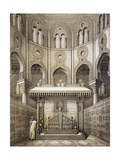 Tomb of Sultan Qalaum (14th Century) in Cairo Impression giclée par Emile Prisse d'Avennes