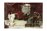 Esther Denouncing Haman to King Ahasuerus, 1888 Giclee Print by Ernest Normand