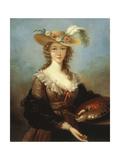 Self Portrait Impression giclée par Elisabeth Louise Vigee-LeBrun