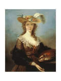 Self Portrait Giclee Print by Elisabeth Louise Vigee-LeBrun