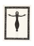Crucifix, 1919 Giclee Print by Eric Gill