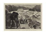 The Rapids Below Niagara Falls, the Sublime and the Ridiculous Giclee Print by Edward John Gregory