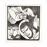 Mary Magdalene, 1926 Giclee Print by Eric Gill