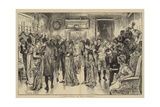 Christmas in Old Virginia Giclee Print by Edwin Austin Abbey