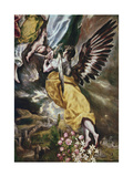 The Immaculate Conception (Detail of Angel Giclee Print by  El Greco