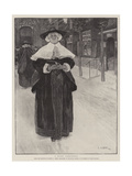 A Quiet Conscience Giclee Print by Edwin Austin Abbey