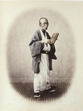A Clerk, C.1868 Photographic Print by Felice Beato