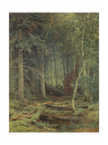 Swamp in the Forest, Autumn, 1872 Giclée-Druck von Fedor Aleksandrovich Vasiliev