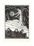 The Agony in the Garden, 1926 Wydruk giclee autor Eric Gill