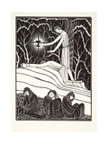 The Agony in the Garden, 1926 Giclee Print by Eric Gill