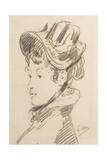 Portrait of Madame Jules Guillemet, C.1880 Giclee Print by Edouard Manet
