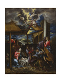 The Adoration of the Shepherds, C.1576-77 Giclee Print by  El Greco