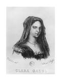 Portrait of Clara Gazul Giclee Print by Etienne Jean Delecluze