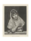 Fiammetta Giclee Print by Eugen Von Blaas