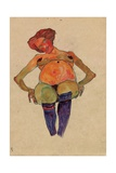 Seated Pregnant Woman Giclee Print by Egon Schiele