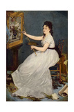 Portrait of Eva Gonzales (1849-83) 1870 Giclee Print by Edouard Manet