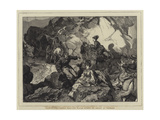 Holiday Sketches, a Halt for Water During an Ascent of Snowdon Giclee Print by Edward John Gregory