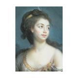 Allegorical Portrait of a Lady as Diana, 1777 Reproduction procédé giclée par Elisabeth Louise Vigee-LeBrun