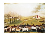 The Cornell Farm, 1848 Giclee Print by Edward Hicks
