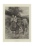 Maternity Giclee Print by Edouard Debat-Ponsan