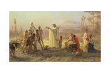 Hermes' Consecration, 1874 Giclee Print by Fedor Andreevich Bronnikov