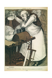 Autopsy, No Sign of a Brain, He Must Be a Civil Servant from 'L'Assiette Au Beurre', Pub. Aug. 1902 Giclee Print by Eve Cadel