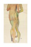Zwei Stehende Akte, 1913 Giclee Print by Egon Schiele