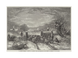 A Winter's Morning Giclee Print by Edward Duncan