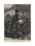 Natives of the Caucasus, North of Mingrelia Giclee Print by Felix Regamey