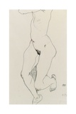 Running Woman, 1913 Giclee Print by Egon Schiele