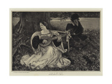 Fair Is My Love Giclee Print by Edwin Austin Abbey