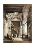Mosque of Ibn Tulum Giclee Print by Emile Prisse d'Avennes