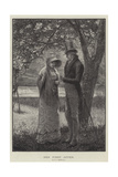 Her First Offer Giclee Print by Edward Frederick Brewtnall