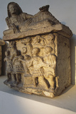 Etruscan Funerary Urn, 2nd Century Bc, Umbria, Italy Photographic Print by  Etruscan