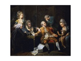 Broken Contract, Painting by Jeaurat Etienne (1699-1789), France, 18th Century Giclee Print by Etienne Jeaurat