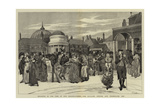 Brighton in the Time of Our Grandfathers, the Pavilion, Steyne, and Promenade, 1805 Giclee Print by Edwin Austin Abbey