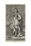 La Regina, a Venetian Dancing Girl Giclee Print by Elihu Vedder