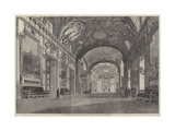 The Throne Room of the Palace of the Luxembourg Giclee Print by Felix Thorigny