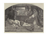 Lear and Cordelia Giclee Print by Ford Madox Brown