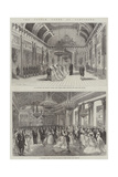 The French Court at Compiegne Giclee Print by Felix Thorigny