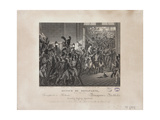 Return of Bonaparte, 20 March 1815, C.1820 Giclee Print by Francois Joseph Heim
