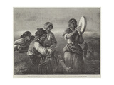 Spanish Gipsies Giclee Print by Francis William Topham