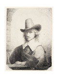 Man in High Hat, C.1645-50 Giclee Print by Ferdinand Bol