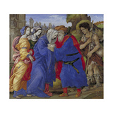 The Meeting of Joachim and Anne Outside the Golden Gate of Jerusalem, 1497 Giclee Print by Filippino Lippi